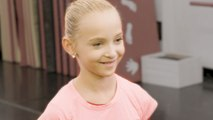 "Dance Moms: Behind the Scenes: Lilliana Rehearses ""Shine Bright"""