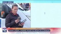 Traversée de la Manche: Franky Zapata a réussi à se poser sur la plateforme de ravitaillement en mer