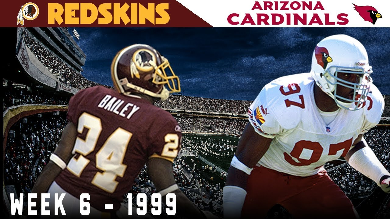 The Game Champ Bailey Became a LEGEND- -Redskins vs. Cardinals, 1999-
