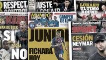 Ça brûle pour Junior Firpo au Barça, dernier round entre la Juve et l'Inter pour Romelu Lukaku