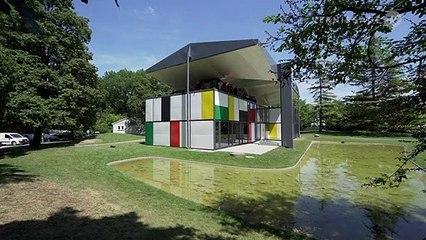 Pavillon Le Corbusier in Zürich, Switzerland