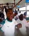 Les supporters Sénégalais ont fait une autre sortie comique. Regardez !