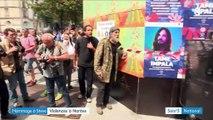 Hommage à Steve Maia Caniço : scènes de violence à Nantes