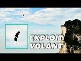 Les images incroyables de l'exploit de Franky Zapata au-dessus de la Manche