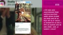 Laeticia Hallyday : pour l'anniversaire de Jade, elle partage d'émouvantes photos avec Johnny