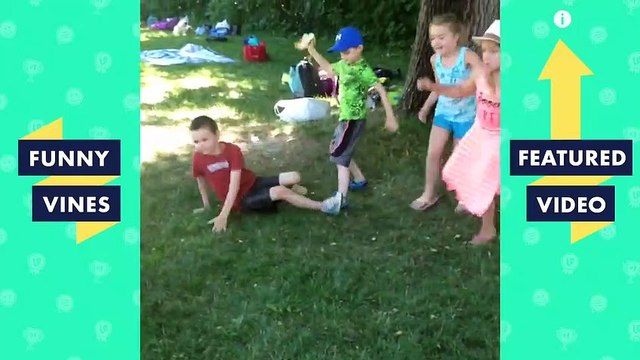 TRY NOT TO LAUGH - Best KIDS FAILS Vines   Funny Videos February 2019