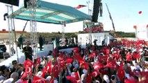Erdoğan: 'Bugün bir tarih yazıyoruz, İstanbul'u İzmir'e farklı bir şekilde bağlıyoruz' - BURSA