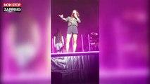 Jenifer en concert : Un fan lui demande de se déshabiller, elle le recadre (vidéo)