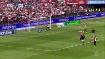 Feyenoord score late equaliser in 2-2 derby draw against Sparta