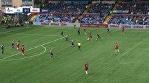Steven Gerrard shows fine ball control on sidelines of Rangers match