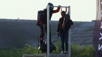 French Flyboard Inventor Makes Historic Channel Crossing