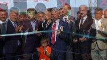 Bursa Şehir Hastanesi ve İstanbul-İzmir Otoyolu ortak açılış töreni - Açılış kurdelesi kesimi
