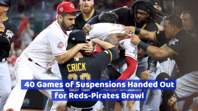 Plenty Of Suspensions Were Handed Out During This MLB Fight