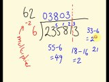Long Division trick 4 - learn how to do long division easily and quickly