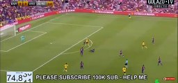 Barcelona vs Arsenal 0-1 Aubameyang goal