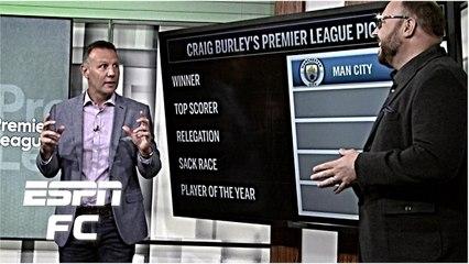 craig burleys premier league predictions title winner top scorer player premier league