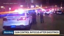 Gun Control Back in Focus After Mass Shootings