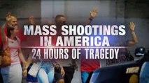 Regardez le début du grand journal de NBC hier soir en édition spéciale après les fusillades de ce week-end aux USA