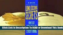 Full E-book Unlocking Secrets: How to Get People to Tell You Everything  For Online