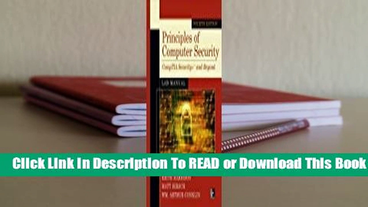 Online Principles of Computer Security Lab Manual, Fourth Edition  For Kindle