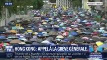 Une grève générale est prévue ce lundi à Hong Kong