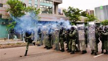 Hong Kong Police Fired Tear Gas To Disperse Anti-Government Protesters