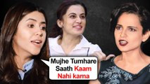 Ekta Kapoor REFUSES To Work With Kangana Ranaut Chooses Taapsee