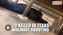El Paso shooting: Woman hides as gunfire erupts inside Walmart