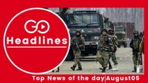 Top News Headlines of the Hour (5 Aug, 10:30 AM)