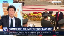 Commerce: Trump enfonce la Chine