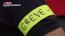 Val-d'Oise : des pompiers interdits de porter un brassard de gréviste