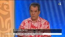 Invité du journal : Edouard Fritch président de la Polynésie Française