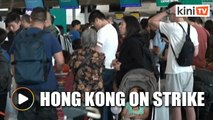 Strike in Hong Kong leads to cancellation of over 200 flights