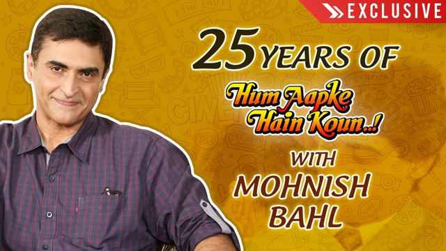 Mohnish Bahl Reveals Never Heard Before Stories | Hum Aapke Hain Koun 25 Years | Exclusive