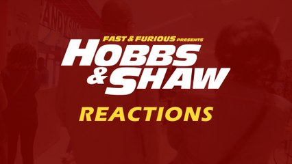 Kenyans react to Hobbs & Shaw film following its premiere