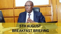 Census assurance, Okoth's family appeal, Luo-Kalenjin unity: Your Breakfast Briefing