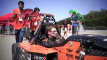 Abarth presents the awards to the three winning Teams in the Formula SAE 2019 trackdrive tests