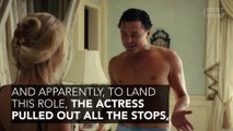 Margot Robbie became famous thanks to her role in The Wolf of Wall Street.