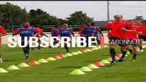Trois séance technique et physique d'entraînement de football coach adnan alagi - Football tactics