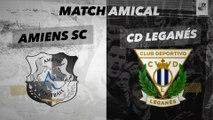 Résumé Amiens SC - CD Leganés ( 0 - 1 )