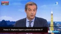 France 3 : Stéphane Lippert a présenté son dernier journal télévisé (vidéo)
