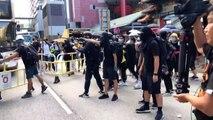 Hong Kong:  nouveaux heurts entre police et manifestants