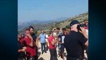 Report TV - Guroret në 'Tomorr', firmat kërkojnë të nisin punën, banorët në protestë