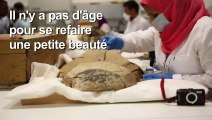 Egypte: début de la restauration du sarcophage de Toutânkhamon