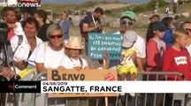 Traversée de la Manche : pari réussi pour Franky Zapata
