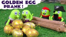 Funny Funlings Golden Egg Prank with Thomas and Friends and Pirate Funling in this Family Friendly Full Episode English Story for Kids
