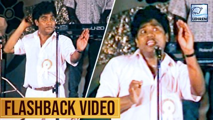Johnny Lever's Live Comedy Act | Flashback Video