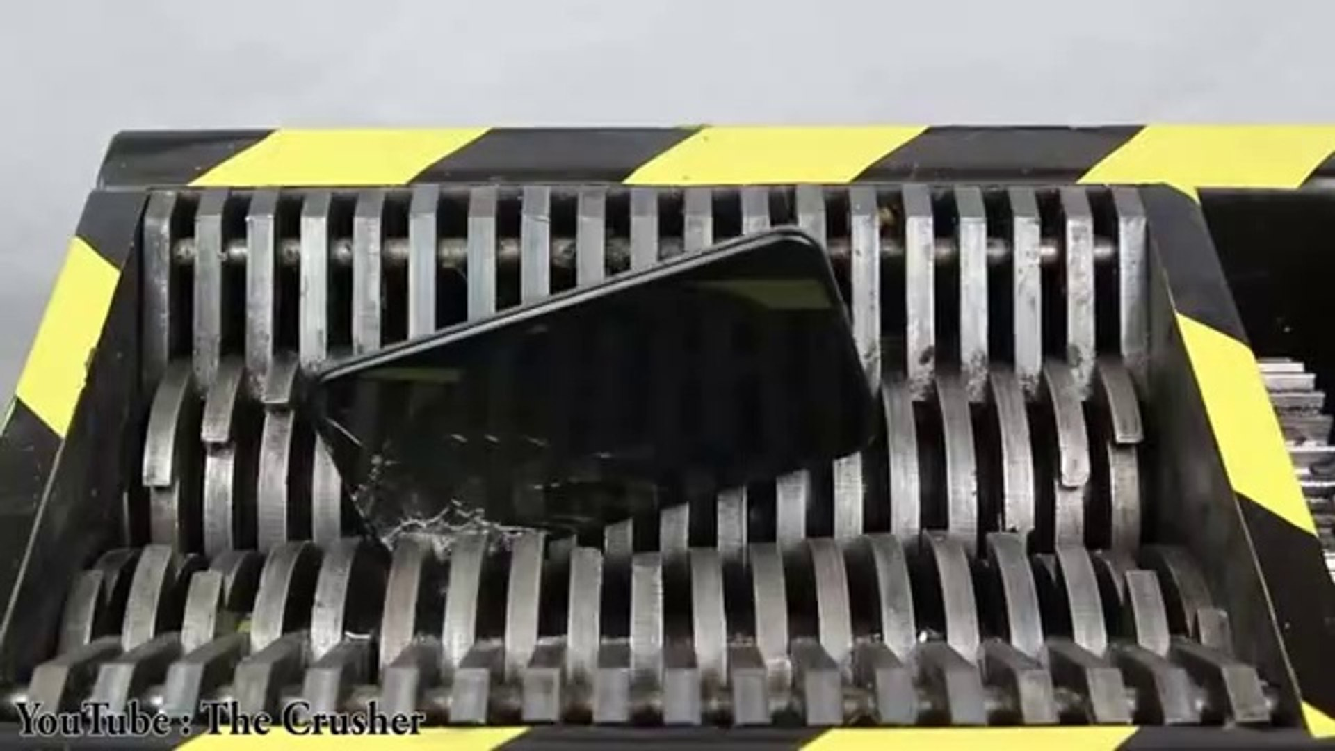 Experiment Shredding Apple Iphone X And Toys So Satisfying - The Crusher