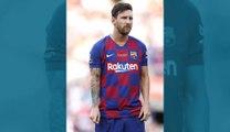 Lionel Messi blessé au mollet lors de son premier entraînement de reprise au FC Barcelone