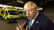 Johnson: New NHS funding will reduce waiting times